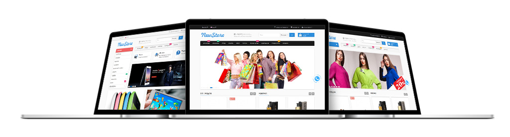 NewStore - универсальный, адаптивный шаблон Opencart | [Infoclub.PRO]